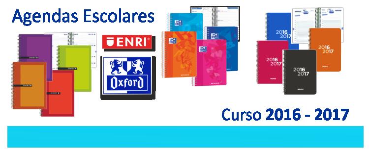 Agendas escolares 2016 - 2017